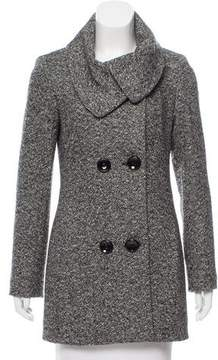 Cinzia Rocca Tweed Wool Coat