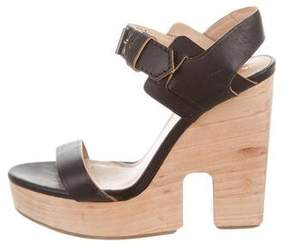 Reed Krakoff Leather Platform Sandals