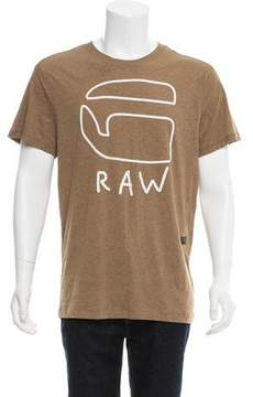 G Star Printed Short Sleeve T-Shirt w/ Tags