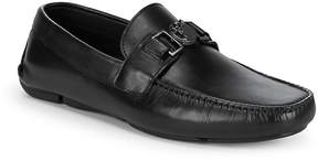 Versace Men's Classic Leather Loafers