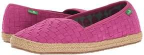 Sanuk Basket Case Women's Slip on Shoes