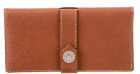Hermes Buffle Dimitri Wallet - BROWN - STYLE