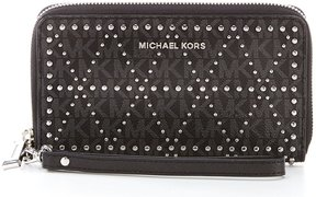 MICHAEL Michael Kors Signature Large Multifunction Wallet - BLACK - STYLE