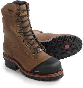 "Chippewa Apache Leather Work Boots - Waterproof, 9"" (For Men)"
