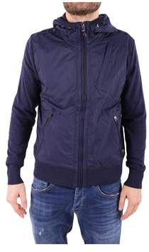 Parajumpers Men's Blue Cotton Outerwear Jacket.