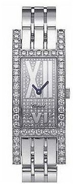Chopard Classique Femme Diamond Dial White Gold Stainless Seel Ladies Watch
