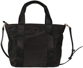 Tory Burch Small Quinn Tote - BLACK - STYLE