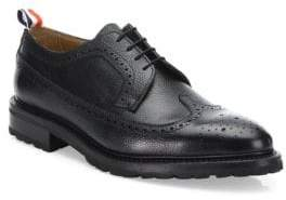 Thom Browne Classic Brogue Leather Dress Shoes