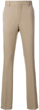 Calvin Klein striped side band trousers