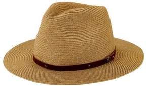 San Diego Hat Company Men's Mixed Paperbraid Fedora SDH3018