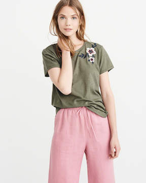 Abercrombie & Fitch Embellished Crew Tee