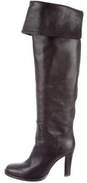 Ralph Lauren Round-Toe Over-The-Knee Boots
