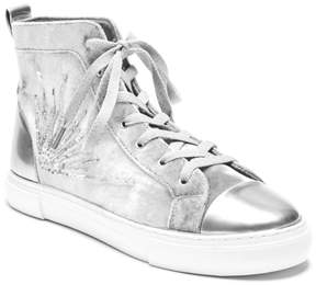 GUESS G Force Beaded High-Top Sneakers
