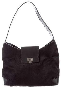 Lambertson Truex Ponyhair & Leather Shoulder Bag