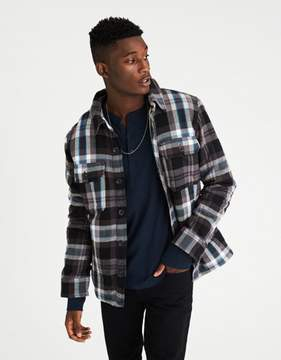 American Eagle Outfitters AE Lined Shirt Jacket