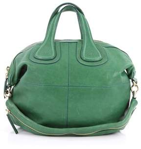 Givenchy Pre-owned: Nightingale Satchel Leather Small.
