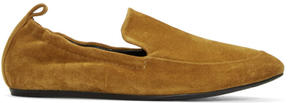 Lanvin Tan Suede Classic Loafers
