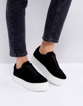 AllSaints Chunky Flatform Sneakers