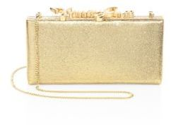 Jimmy Choo Celeste Woven Lame Lurex Clutch