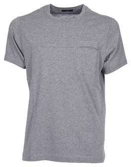 Fay Men's Grey Cotton T-shirt.