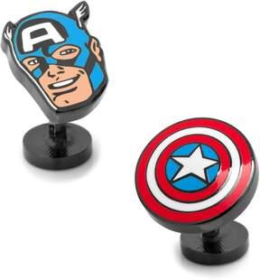Marvel Captain America Comics Cuff Links