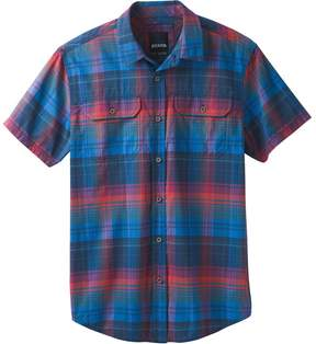 Prana Cayman Plaid Short-Sleeve Shirt - Men's