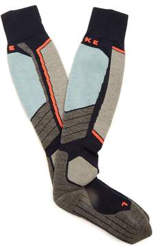 Falke SK2 wool-blend ski socks