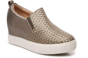 Wanted Biscotti Slip-On Wedge Sneaker - Women's