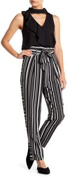 Flying Tomato Black and White Striped Pants