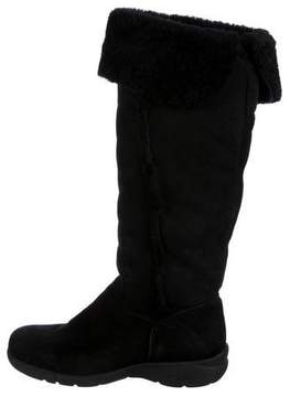La Canadienne Shearling Knee-High Boots