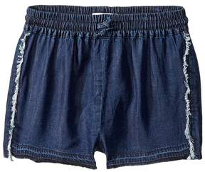 DL1961 Kids Dark Wash Jog Shorts Girl's Shorts