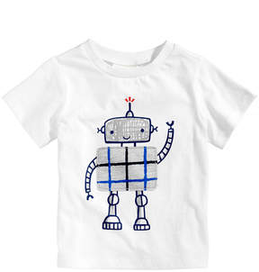 First Impressions Robot-Print Cotton T-Shirt, Baby Boys (0-24 months), Created for Macy's