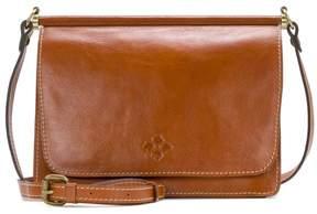 Patricia Nash Caprera Leather Double Flap Crossbody Bag