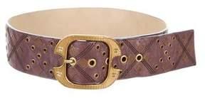 Bottega Veneta Embellished Buckle Belt