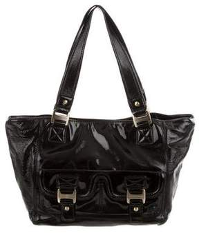 MICHAEL Michael Kors Patent Leather Shoulder Bag