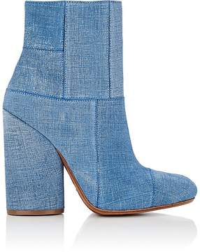 Derek Lam 10 Crosby WOMEN'S EMERY SUEDE PATCHWORK ANKLE BOOTS
