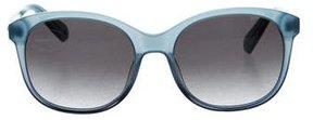 Balmain Gradient Logo Sunglasses w/ Tags