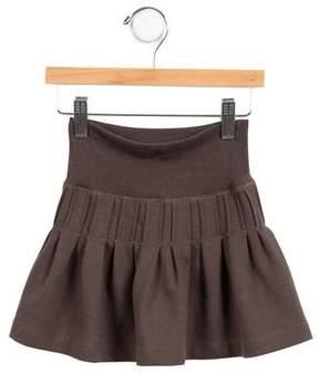 Lili Gaufrette Girls' Flared Knit Skirt