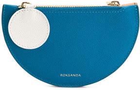 Roksanda double compartment purse clutch