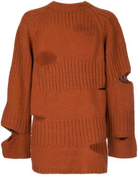 Miharayasuhiro distressed jumper
