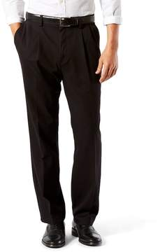 Dockers Stretch Easy Khaki D3 Classic-Fit Pleated Pants