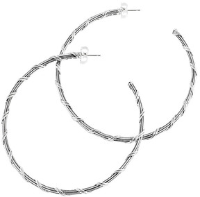 Peter Thomas Roth Signature Classic Silver Hoops