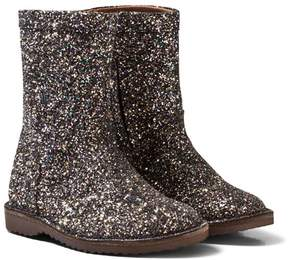 Bisgaard Black Sparkly Leather Boots