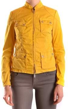 Brema Women's Yellow Cotton Outerwear Jacket.