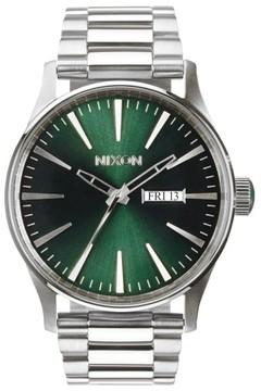 Nixon Men's 'The Sentry' Round Bracelet Watch, 42Mm