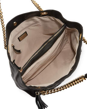 Mario Valentino Valentino By Verra D Studded Sauvage Leather Tote Bag