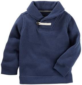 Osh Kosh Toddler Boy Shawl Collar Pullover Sweater