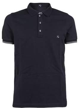 Fay Men's Npmb236134sit0u807 Blue Cotton Polo Shirt.