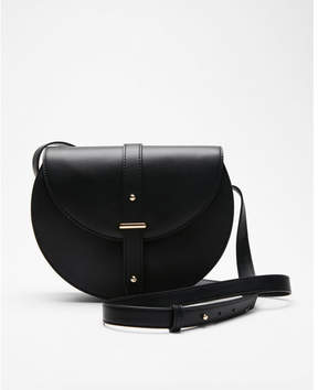 Express fold-over saddle cross body bag