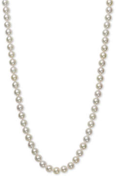 Belle de Mer Pearl Necklace, 16 14k Gold Aa Akoya Cultured Pearl Strand (6-6-1/2mm)